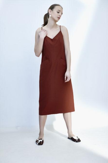 Minimalistic strap dress